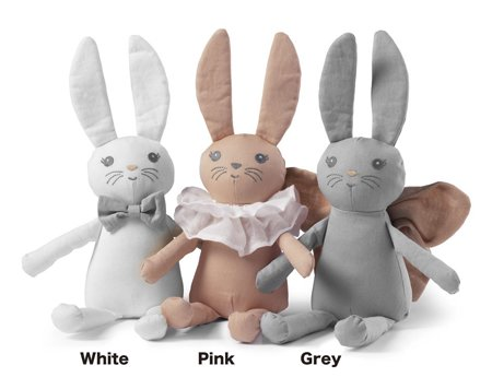 [Elodie Details]  Bunny(41cm) - White,Pink,Grey