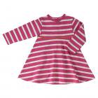 <img class='new_mark_img1' src='//img.shop-pro.jp/img/new/icons23.gif' style='border:none;display:inline;margin:0px;padding:0px;width:auto;' />☆WinterSALE☆ Pigeon Organics] Breton stripe dress : pink   2-3Y/5-6Y
