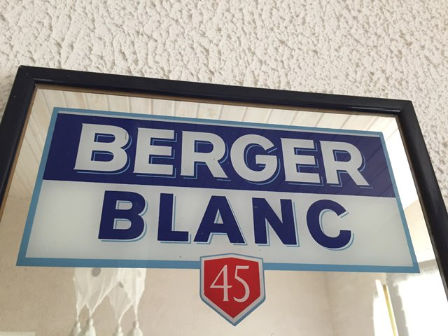 Berger Blanc 45 ミラー