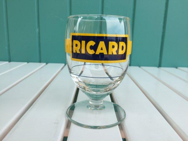Ricard グラス 60'デザイン イエロー