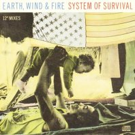 """EARTH, WIND & FIRE / SYSTEM OF SURVIVAL (12"""" MIXES)"""