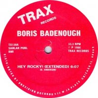 BORIS BADENOUGH / HEY ROCKY!