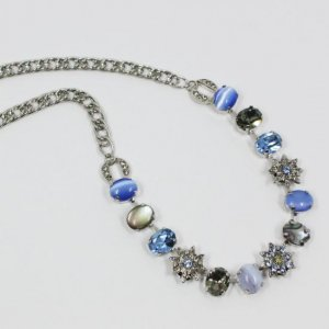 AMARO Blue Rose ネックレス