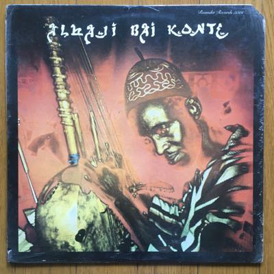 Alhaji Bai Konte - Kora Melodies From The Republic Of The Gambia, West Africa