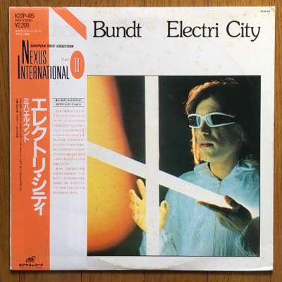 Micahel Bundt - Electri City (LP) '83