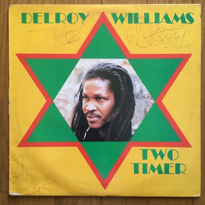 Delroy Williams - Two Timer (LP) '87