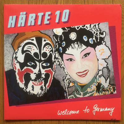 Härte 10 - Welcome To Germany (LP) '85