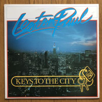 Leston Paul - Keys To The City (LP) '87