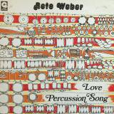 Reto Weber - Love Percussion Song (LP)
