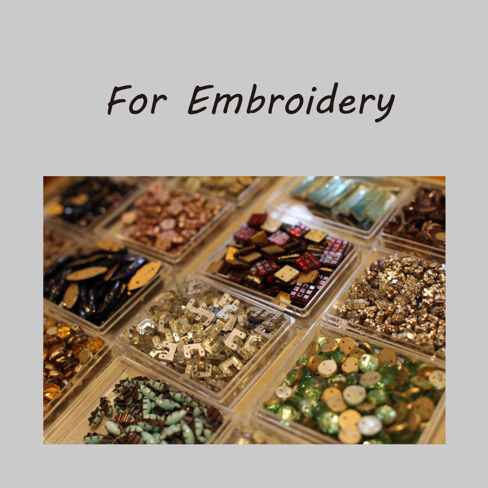 For Embroidery