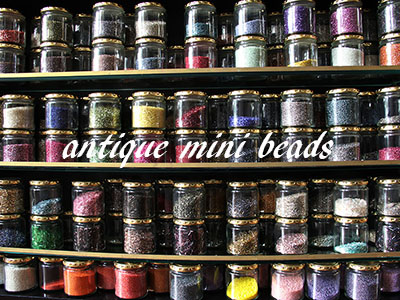 Antique mini beads