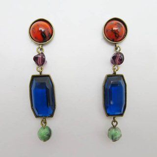 E108-280 Cabochon Earrings