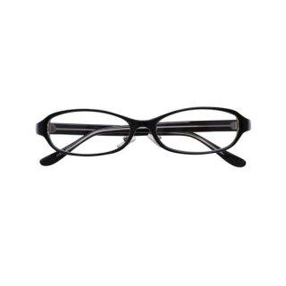 *これぞ黒縁眼鏡*オーバル型ベーシック