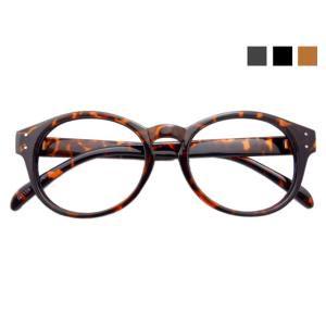 丸眼鏡の基本型*ボストン丸メガネ