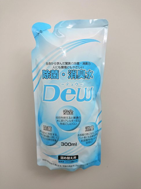 DEW詰め替え用パウチ【DEW-052】 12袋入り ☆スプレーボトルプレゼント☆<img class='new_mark_img2' src='https://img.shop-pro.jp/img/new/icons26.gif' style='border:none;display:inline;margin:0px;padding:0px;width:auto;' />
