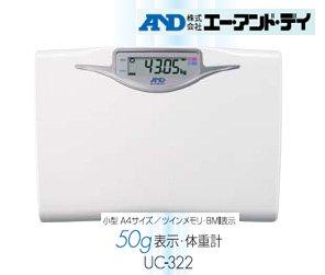 ツインメモリ 50g 表示体重計