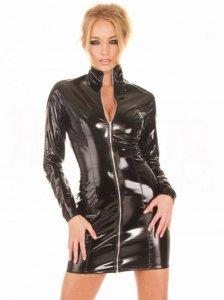 ww-h2003-PVC長そでドレス