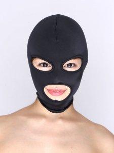 フルフェイスマスク【DM便OK】la-51914【目・口あき】【フルフェイスマスク】【ボンデージ】【la pomme】