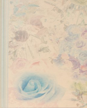 スケジュール帖<br />『夢叶うBlue rose』(名入れ無料)