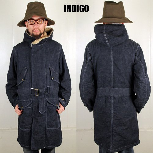 <img class='new_mark_img1' src='https://img.shop-pro.jp/img/new/icons47.gif' style='border:none;display:inline;margin:0px;padding:0px;width:auto;' />ANACHRONORM[コート] DENIM HOODED COAT