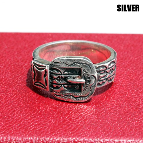 <img class='new_mark_img1' src='https://img.shop-pro.jp/img/new/icons46.gif' style='border:none;display:inline;margin:0px;padding:0px;width:auto;' />CALEE_[リング] WESTERN RING SILVER