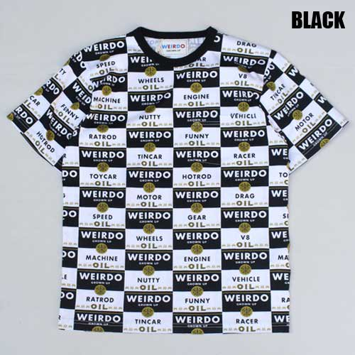 <img class='new_mark_img1' src='https://img.shop-pro.jp/img/new/icons46.gif' style='border:none;display:inline;margin:0px;padding:0px;width:auto;' />WEIRDO_[総柄Tシャツ] WRD CANS-CREW NECK T-SHIRTS