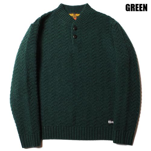 <img class='new_mark_img1' src='https://img.shop-pro.jp/img/new/icons46.gif' style='border:none;display:inline;margin:0px;padding:0px;width:auto;' />CALEE_[セーター] HENLEY NECK HERRINGBONE KNIT SWEATER