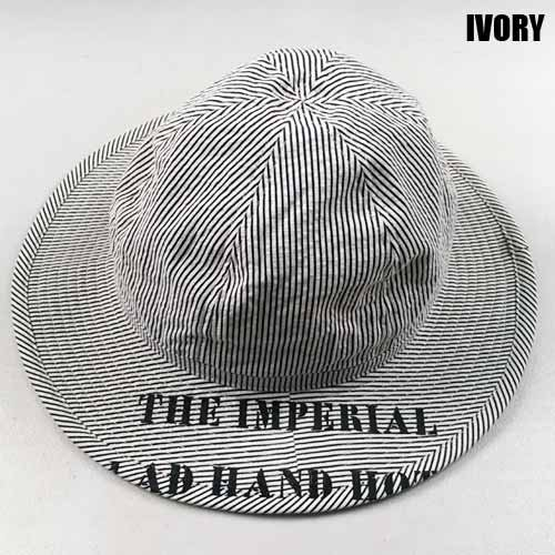 <img class='new_mark_img1' src='//img.shop-pro.jp/img/new/icons5.gif' style='border:none;display:inline;margin:0px;padding:0px;width:auto;' />byGLAD HAND[ハット] IMPERIAL HAT