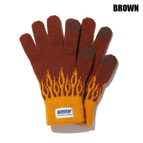 <img class='new_mark_img1' src='//img.shop-pro.jp/img/new/icons5.gif' style='border:none;display:inline;margin:0px;padding:0px;width:auto;' />RADIALL[グローブ] FLAMES JACQUARD GLOVES