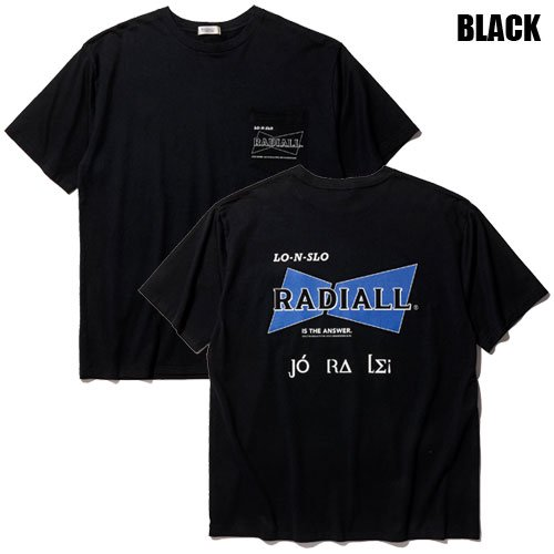 <img class='new_mark_img1' src='https://img.shop-pro.jp/img/new/icons5.gif' style='border:none;display:inline;margin:0px;padding:0px;width:auto;' />RADIALL[S/S TEE] BOW TIE CREW NECK POCKET T-SHIRT S/S