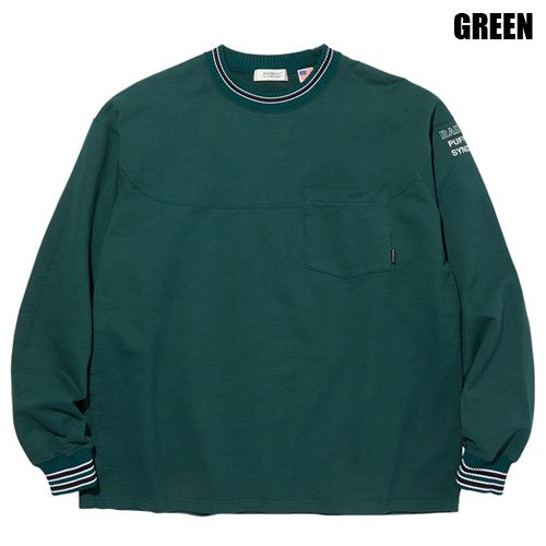 <img class='new_mark_img1' src='https://img.shop-pro.jp/img/new/icons5.gif' style='border:none;display:inline;margin:0px;padding:0px;width:auto;' />RADIALL[L/S TEE] SYNDICATE CREW NECK POCKET T-SHIRT L/S