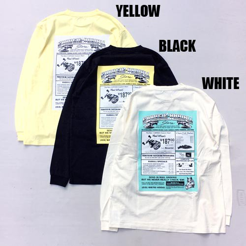 <img class='new_mark_img1' src='https://img.shop-pro.jp/img/new/icons5.gif' style='border:none;display:inline;margin:0px;padding:0px;width:auto;' />RADIALL[L/S TEE] GAMBLING HOURS CREW NECK T-SHIRT L/S