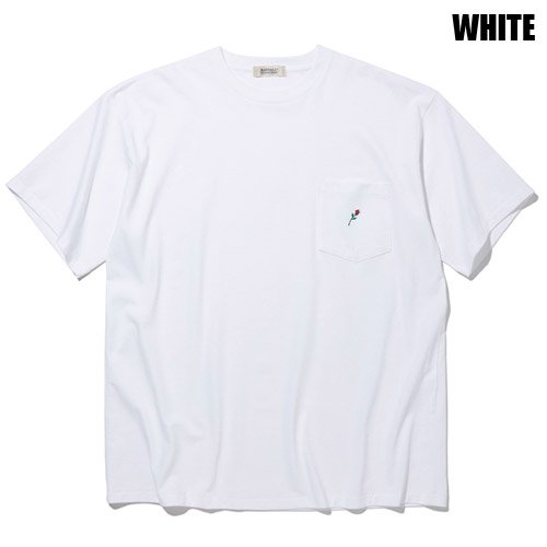 <img class='new_mark_img1' src='https://img.shop-pro.jp/img/new/icons5.gif' style='border:none;display:inline;margin:0px;padding:0px;width:auto;' />RADIALL [S/S TEE] ROSE CREW NECK POCKET T-SHIRT S/S
