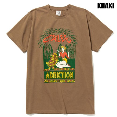 <img class='new_mark_img1' src='https://img.shop-pro.jp/img/new/icons47.gif' style='border:none;display:inline;margin:0px;padding:0px;width:auto;' />CALEE_[S/S TEE] STRETCH ADDICTION T-SHIRT