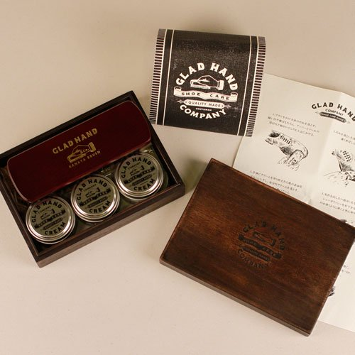 GLADHAND_[シューケアセット]GH SHOE CARE -CREAM SET