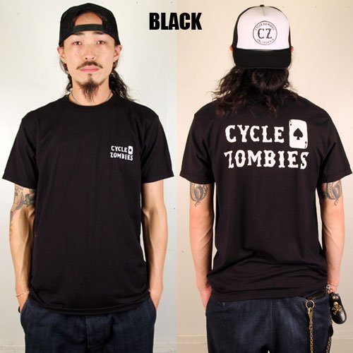 <img class='new_mark_img1' src='https://img.shop-pro.jp/img/new/icons46.gif' style='border:none;display:inline;margin:0px;padding:0px;width:auto;' />CYCLE ZOMBIES_[プリントTシャツ]SPADE LOGO-T