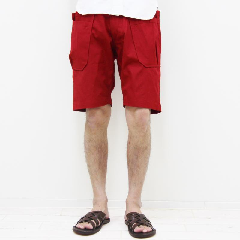 SASSAFRAS WHOLE HOLE PANTS 1/2 (RED)