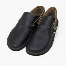 FERNAND LEATHER MIDDLE ENGLISH(BLACK)