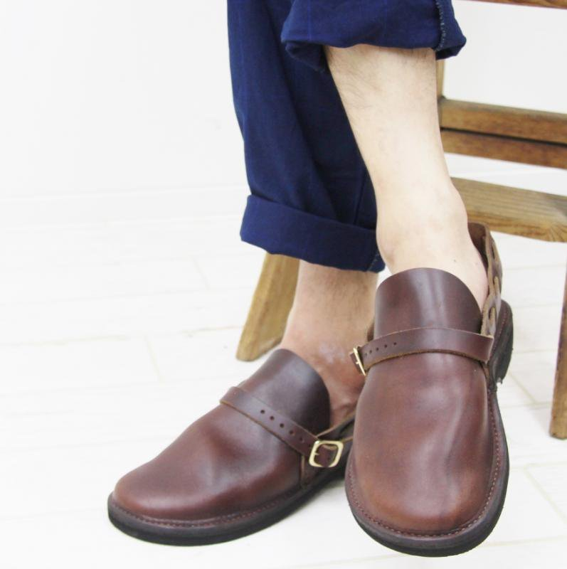 FERNAND LEATHER MIDDLE ENGLISH(BROWN)