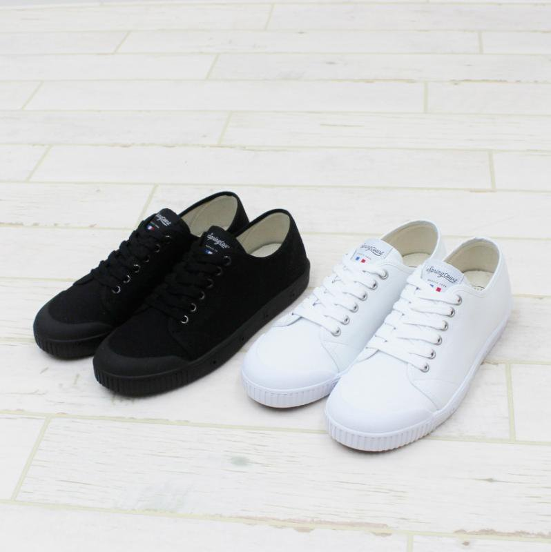 SPRING COURT G2 LOW CUT(WHITE)
