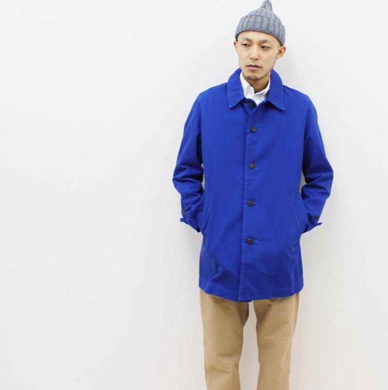 KATO' BASIC ステンカラーコート(ROYAL BLUE)