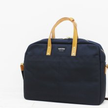 WONDER BAGGAGE GOODMANS BRIEFCASE (NAVY)