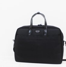 WONDER BAGGAGE GOODMANS BRIEFCASE (BLACK)