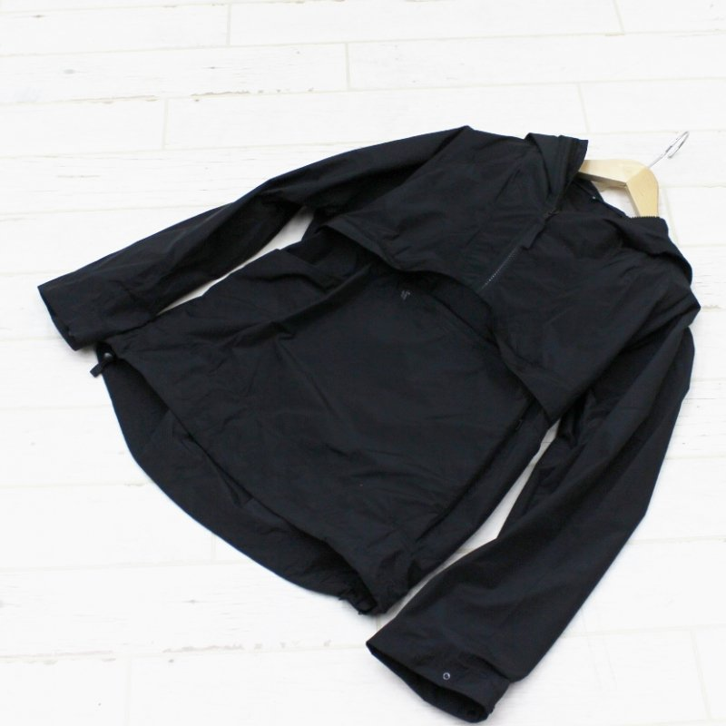 BACH GARMENTS TRACER ANORAK(BLACK)