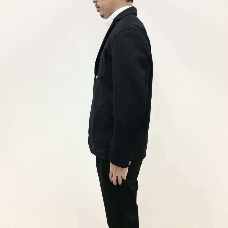 CURLY  TRACK JACKET 2021S/S (BLACK)