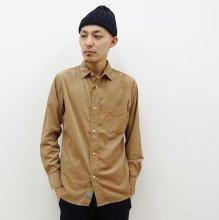 KATO' BASIC  コーデュロイシャツ(BEIGE)