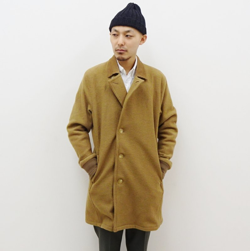 CURLY FROSTED COAT(CAMEL)