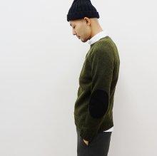 SOGLIA LANDNOAH Sweater(エルボーパッチ-KHAKI)