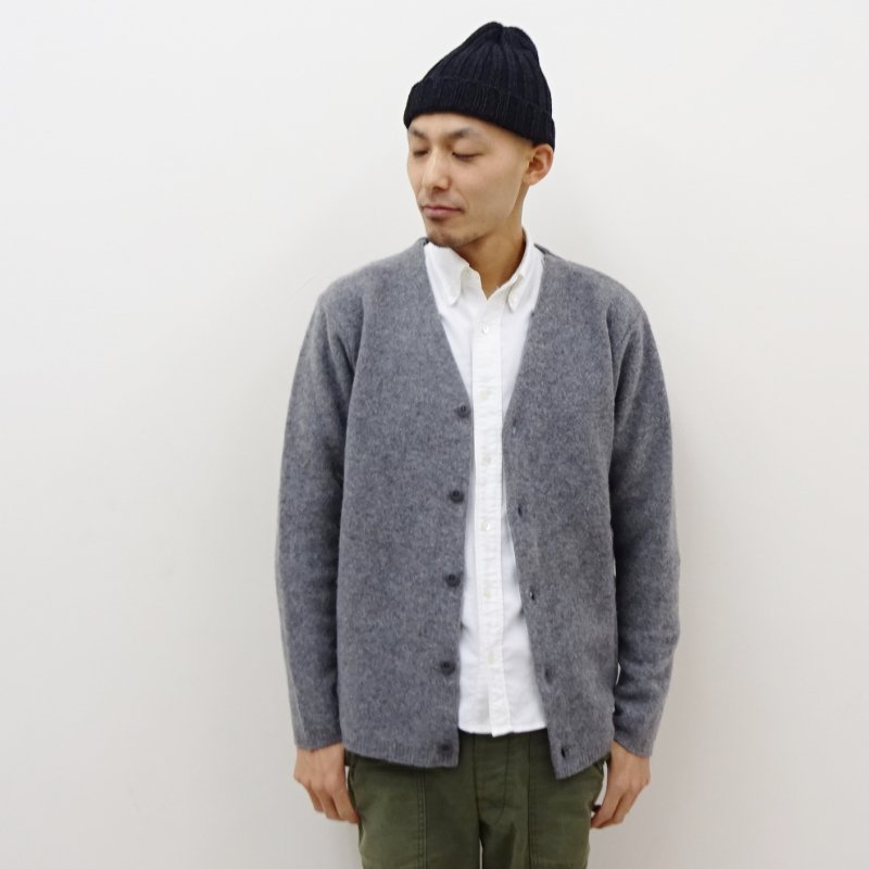 BETTER FELTED WOOL CARDIGAN(GRAY)