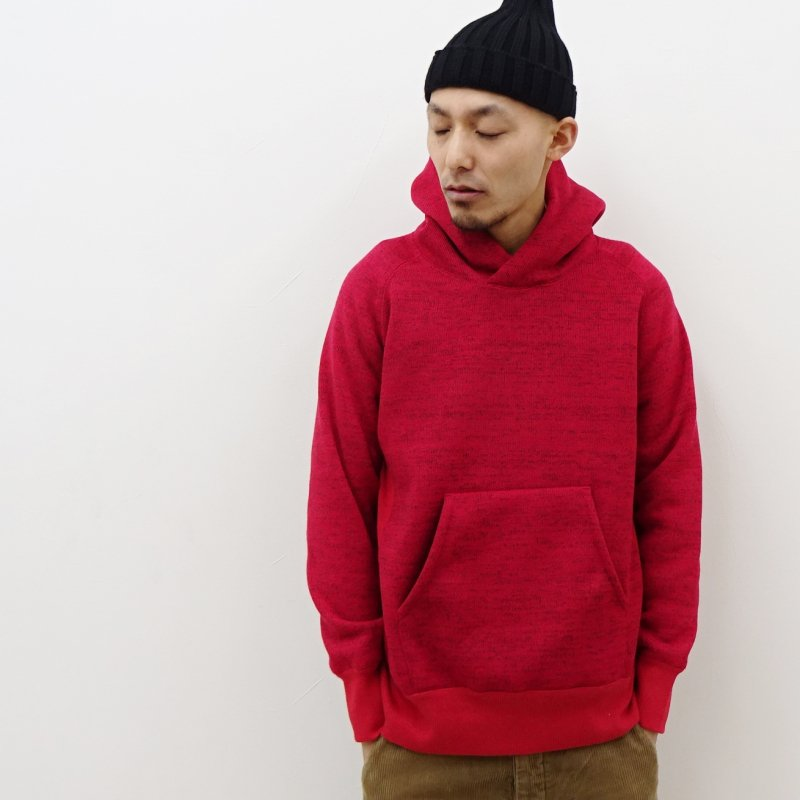CURLY BRIGHT PO PARKA (RED)
